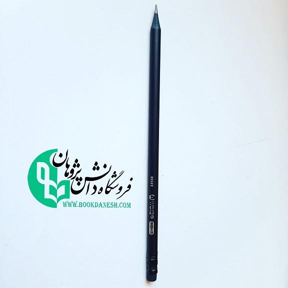 مداد سیاه پاک کن دار وک