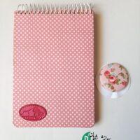 دفترچه یادداشت گلدار بزرگ