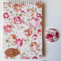 دفترچه-یادداشت-گل-دار