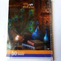 دفتر-50-برگ-طرح-طاووس