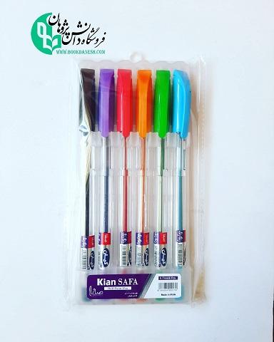 خودکار 6 رنگ کیان